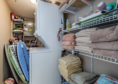 In-unit Laundry and Utility Room